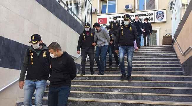 İstanbul'da 8 ayrı evden 1 Milyonluk vurgun yapan çete çökertildi