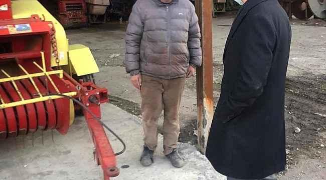 Kaymakam Öztürk, sanayi esnafını ziyaret etti