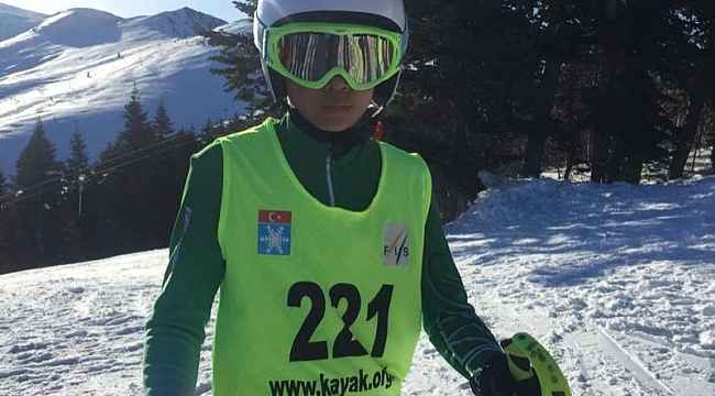Spor A.Ş. kayakçıları Bursa'dan derece ile döndü