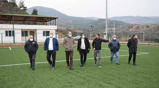 Şehit Ömer Halisdemir Stadında inceleme