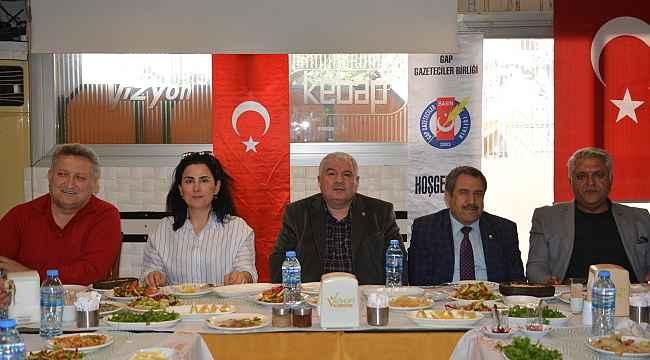 GAP Gazeteciler Birliği Adana'da ağırlandı