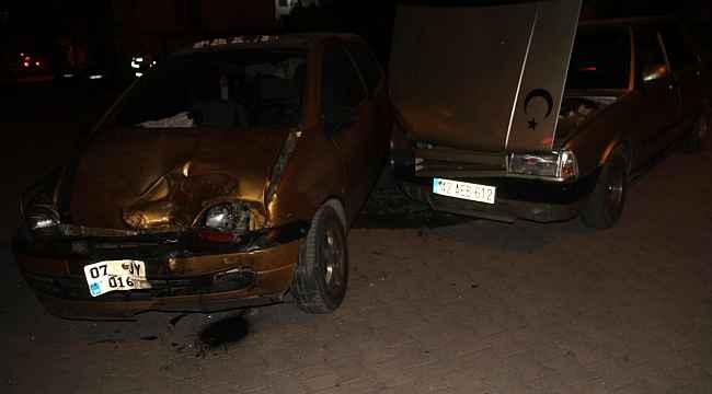 Konya'da otomobiller çarpıştı: 8 yaralı