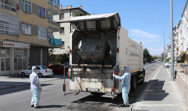 Çevre dostu Kocasinan Belediyesi'nden daha hijyenik temizlik