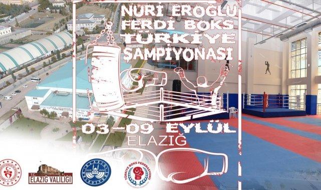 Türkiye Ferdi Boks Şampiyonası Elazığ'da