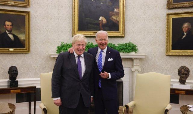 İngiltere Başbakanı Boris Johnson, ABD Başkanı Biden ile görüştü